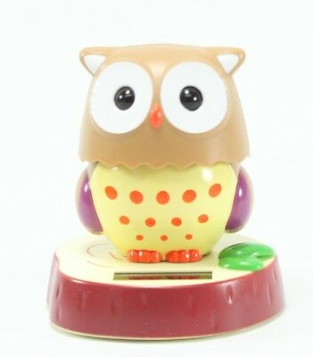 Smart Owl Solar Powered Toy Home Decor Birthday Congratulatory Gift US Seller