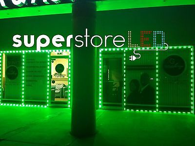 Smoke, Vape Store,  Dispensary Green Storefront Led 20Ft  40X + Free Shipping