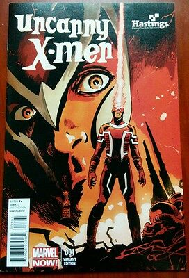 Uncanny X-Men 1 Rare Hastings Variant New Bendis Francesco Francavilla Marvel