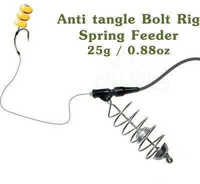 Carp Fishing Feeder 25g/0.88oz, Safety Lead clips Bolt Rig, Fishing Tackle