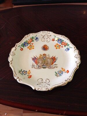 Lovely Cooperative Wholesale Society 1936 Silver Jubilee Plate