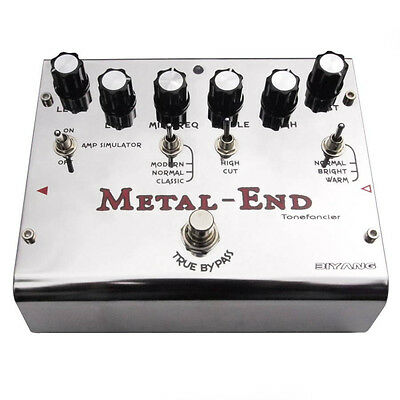 Biyang Metal End Pro Distortion Effects Pedal [Tonefancier Series]