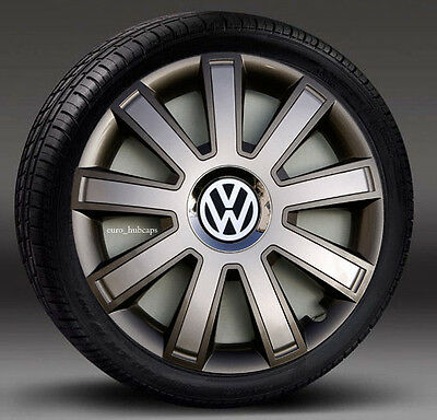 """4x16"""" wheel trims, Hub Caps, Covers to fit Vw Transporter T5"""