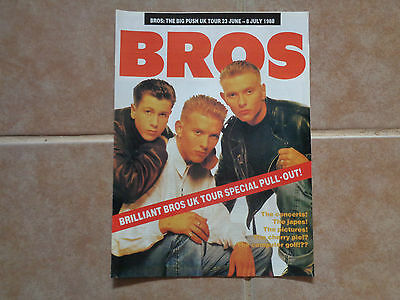 Bros_tour pull out_MAGAZINE CLIPPINGS CUTTINGS_from AUSTRALIA_13b