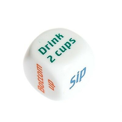 Drinking Game Dice Adult Hen Stag Do Novelty Bar Pub Birthday Party Pub Cocktail