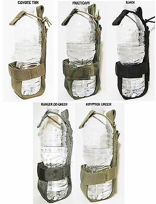 Tactical Molle Harness Lightweight Bottle Holder K9 Us Military Usa Army Combat