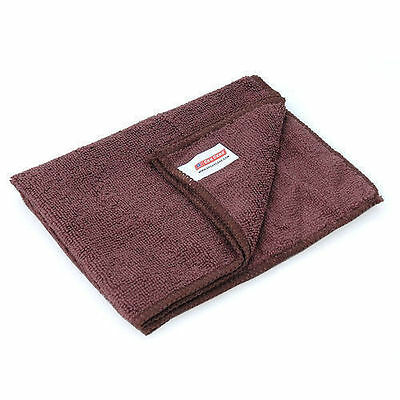 Coffee Brown Microfibre Soft Cleaning Cloth Multi Pack EOFY Sale - Choose Qty