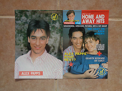 Alex Papps_home and away_MAGAZINE CLIPPINGS_ships from AUS!_13g