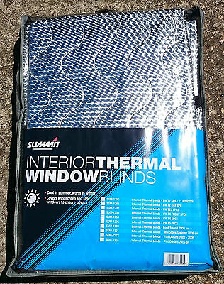 Summit Fiat Ducato 2002-2005 Campervan Window Blinds External and Thermal