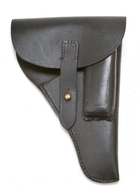 Black Leather Walther PP/PPK Holster