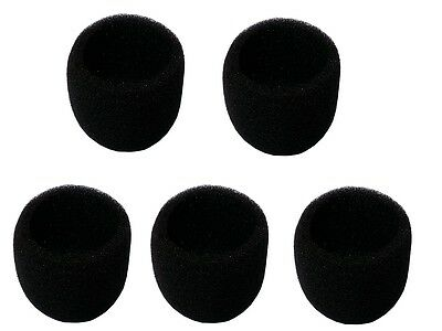 5 PCS Inner Ball Mike Foam Windscreen For Shure SM58, BETA 58A, SM48,and others