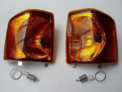 Land Rover Discovery 1 Front Indicators Lamps Pair - 94 > 98 - New Lamps