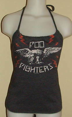 Foo Fighters Reconstructed Concert Tour Shirt Halter Top DiY