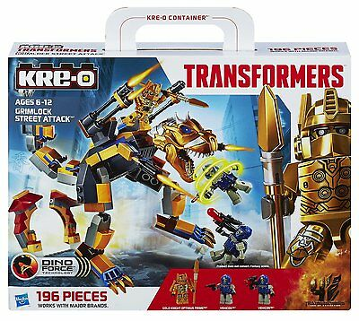 KRE-O Transformers A6955 Grimlock Street Attack Age of Extinction Hasbro