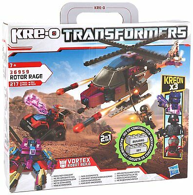 KRE-O Transformers 36959 Rotor Rage 2 in 1 Vortex Quest for Energon Hasbro