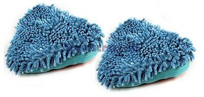 2 Coral Compatible Steam Mop Pads to fit Beldray 1500W RED 2 in 1 Steam Mop
