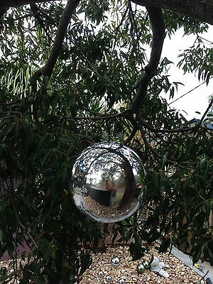 Bird Deterrent Hanging  Silver Balls 200mm