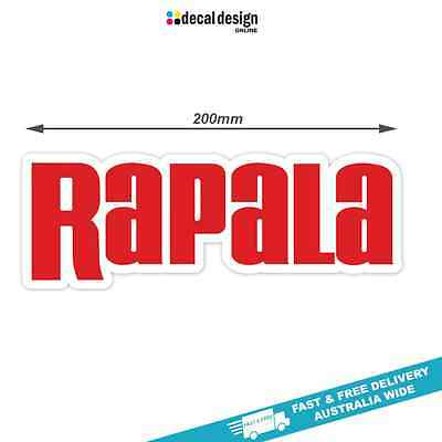 Rapala Decal x 1 sticker suits boat fishing tackle graphics