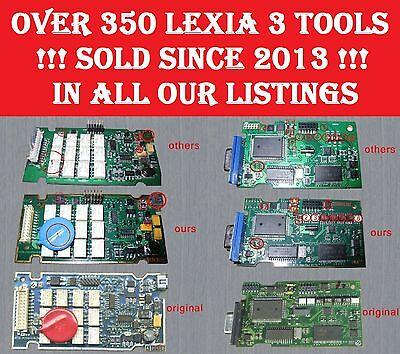 Voll Chip Lexia 3 Diagbox 7.83 + Firmware 4.3.3. Extra S1279 Modul+30pin Adapter