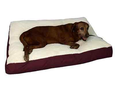 Soft Comfy Memory Foam Bed Dog Pet  Warm Basket Bed with Fleece Lining NEW