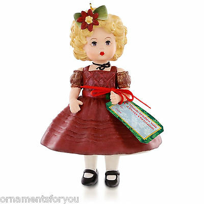 Hallmark 2015 Wendy Wishes You a Merry Christmas Madame Alexander Series