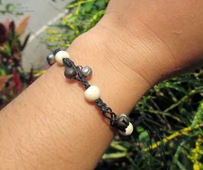 Bracelet Thak Design Handmade From Thailand Beautiful Detailed In Black