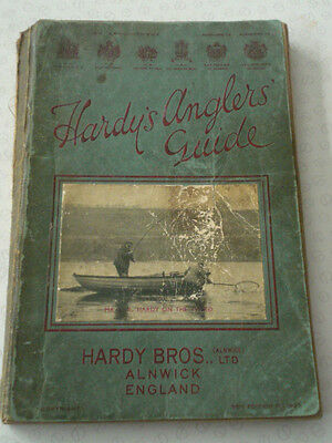 A Vintage Readable Hardy 1937 Anglers Guide Advertising Fishing Catalogue