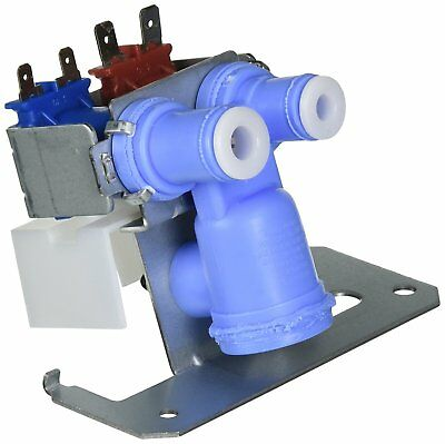 New Refrigerator Inlet Water Valve Dual Solenoid Replacement GE Kenmore Hotpoint