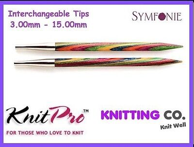 KnitPro SYMFONIE Interchangeable Circular Knitting Needles (Dif. Sizes) Knit Pro