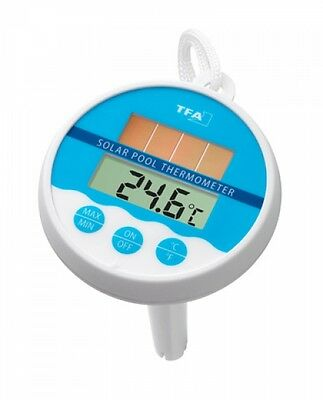 Solar - SCHWIMMBADTHERMOMETER / POOL-TEICH-Thermometer TFA Wasssertemperatur