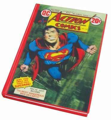 DC Comics Classic Superman Lenticular A5 Notebook with 3D Effect