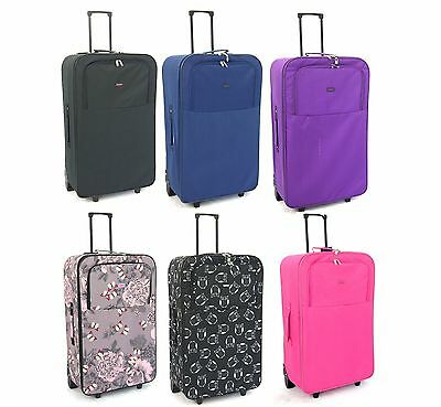 "XL Extra Large 30 "" Lightweight Travel Wheeled Trolley Luggage Suitcase Bag Case"