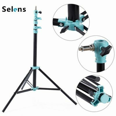 Selens Air-Cushion Heavy Duty Light Stand Tripod 220cm 7.2ft SGT-2200A with Bag