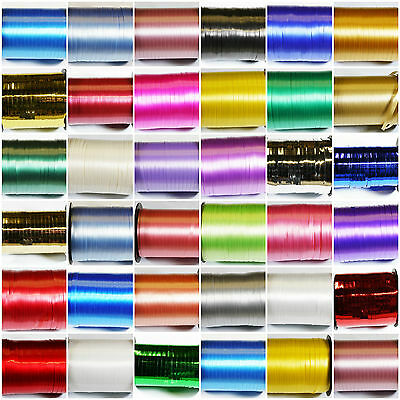 25m Length curling ribbon, 33 colours - Buy 2 get the 3rd FREE - FREE postage