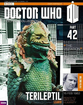 Doctor Who Figurine Collection #42 Terileptil Leader New Sealed