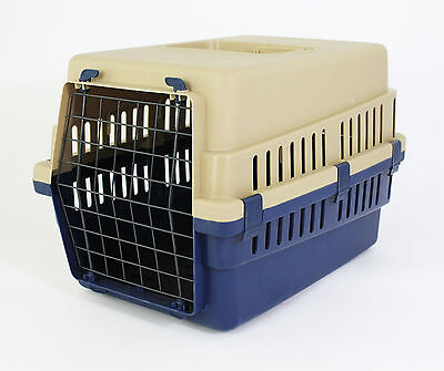 Pet Travel Carrier Transport Box Cage Kennel – Small For Dog Puppy Cat Kitten