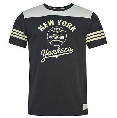 MLB Baseball New York Yankees Majestic Vintage T-Shirt Gr. M L Herren Shirt neu