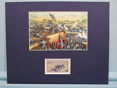 U.S. Grant at the Fall of Petersburg in 1865 honored by its own stamp