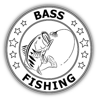 bass pro shops fishing fish car bumper window sticker. Black Bedroom Furniture Sets. Home Design Ideas