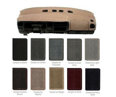 Carpet Dash Cover - Custom Fit - 2005-2019 Ford You Pick the Color