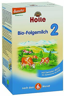 Holle Organic Baby Infant Formula Stage 2 (2 BOXES)