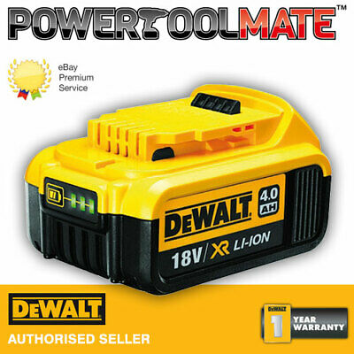 Genuine Dewalt DCB182 18V XR 4Ah Slide Battery