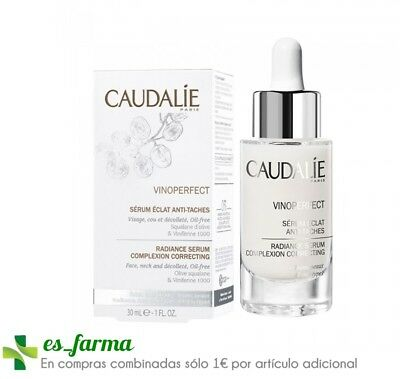 Caudalie Vinoperfect Serum Resplandor Iluminador Antimanchas, 30Ml