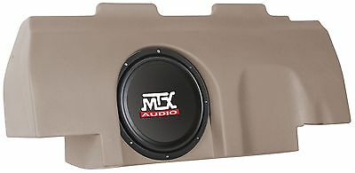 "MTX ThunderForm Ford F-150 SuperCrew 4-Door 2001-2003 10"" Custom Box w MTX Sub!"