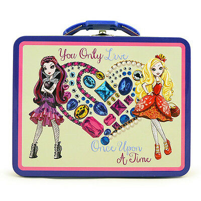 Ever After Metal Tin Lunch Box Once Upon a Time NEW Toys Carrier Tote Carry All
