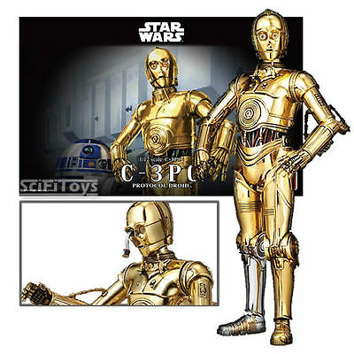 1/12 Star Wars - Golden chrome C-3po Droid Model Kit (Bandai) New Official