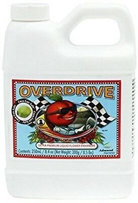 Overdrive 250ml - Official Advanced Nutrients Plant Feed Flower Bloom Enhancer