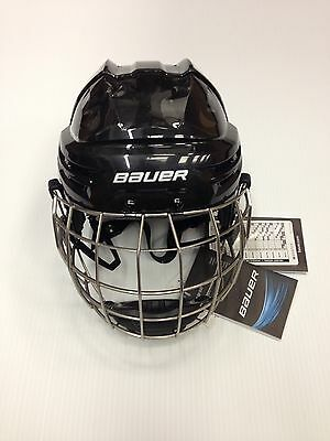 New - Bauer IMS 9.0 Hockey Helmet Combo - Color Black - Size Small