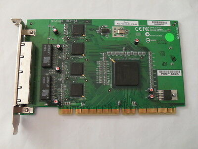 Cisco 4-Port PCI 10/100 Mb Fast Ethernet Card 74-3188-01-4FE-66
