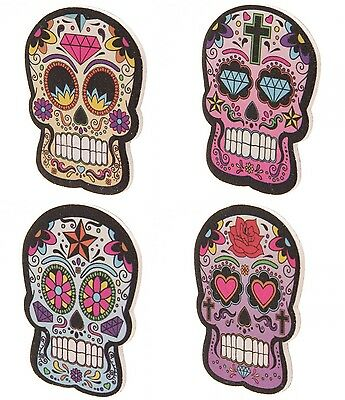 2 x LIME à ongles CALAVERA SUGAR SKULL day of the dead TATTOO manucure  NAIL ART